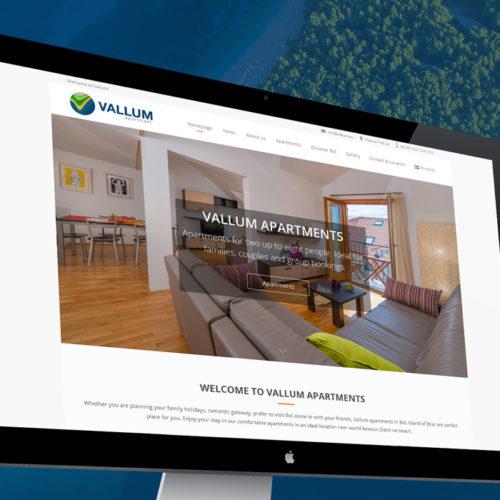 Vallum apartments – Web