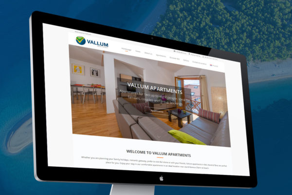 Vallum apartments – Web