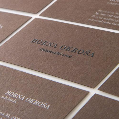 Borna Okroša – Branding