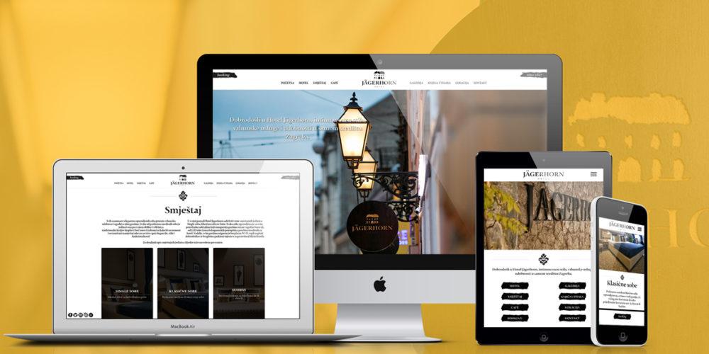 Hotel Jägerhorn – Web