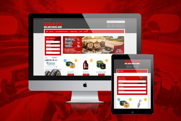 Motodijelovi.hr – Web shop